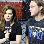 Susan Cingari with MMA fighter Michael Graves
