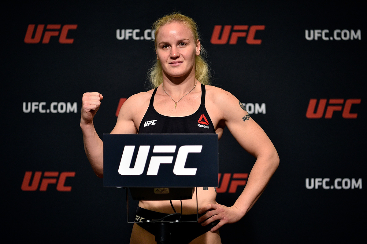 valentina shevchenko ufc 215 weigh-in