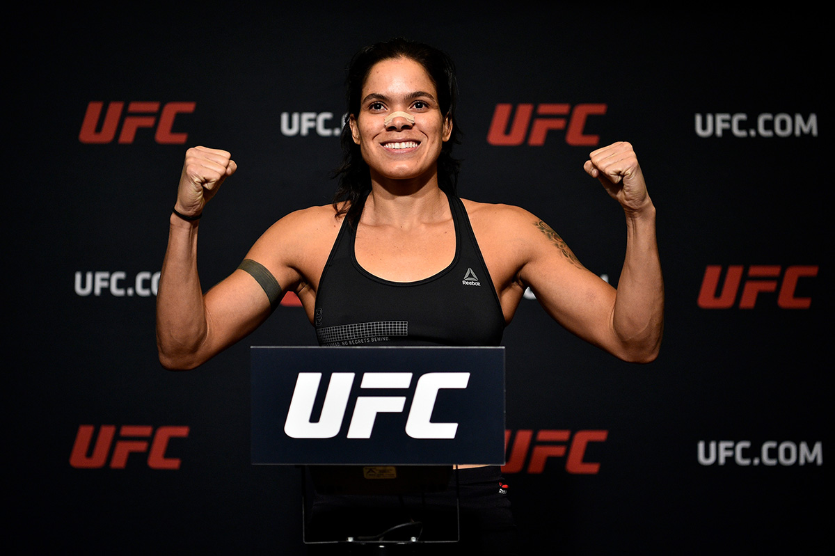 manda Nunes ufc 215 weigh-in