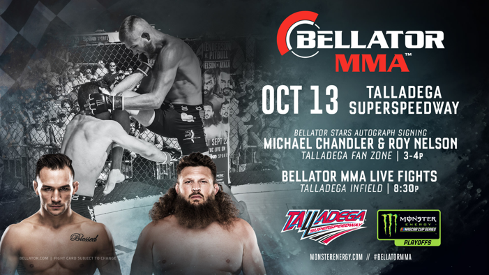MONSTER ENERGY BELLATOR MMA FIGHT SERIES