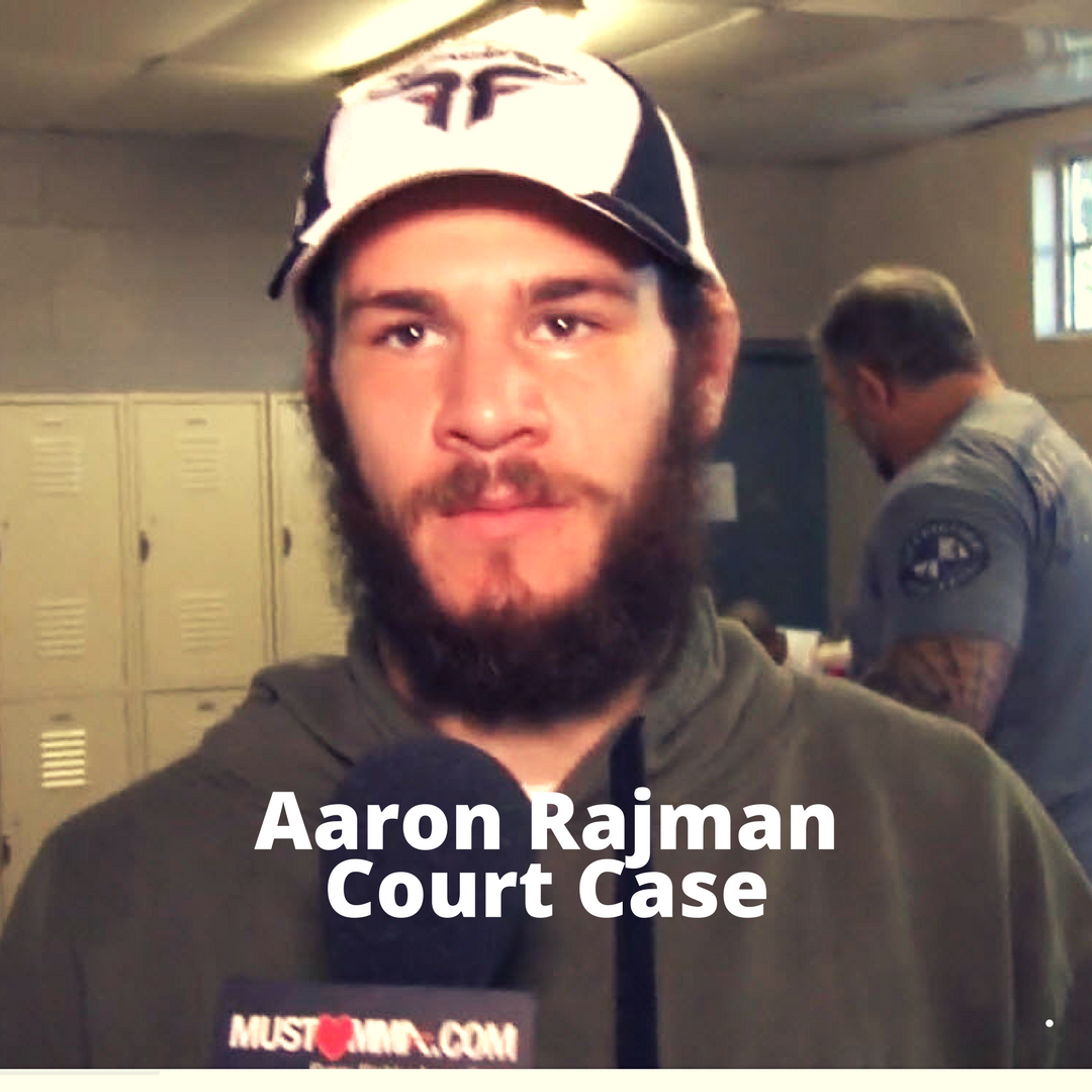 aaron rajman mma fighter