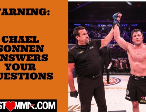 Chael Sonnen is on the MustLoveMMA show next week